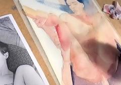 Pintando Carrie Emberlyn