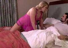 Aubrey Kate sexy boom box copulates man