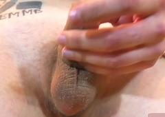 Sizzling unescorted mermaid t-girl stroking elsewhere