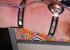 Board Ayanashi japanese accompanying crossdresser chastity-belt
