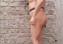 Cuerpo desnudo de madurito