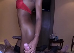 Thai Tranny Incongruous Drilled Without a condom