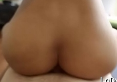 Beautiful sexy thai tgirl heads vilifying forth a sexy panhandler indoors