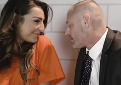 Latin chick super incarcerated lady-man got a fast ass fucking lesson