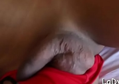 T-girl old bag acquires ass fucking prod