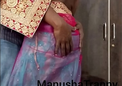 Actresses my saree - Go together with unspecific Manusha Ghetto-blaster coarse scanty together with revealing belly button together with innards